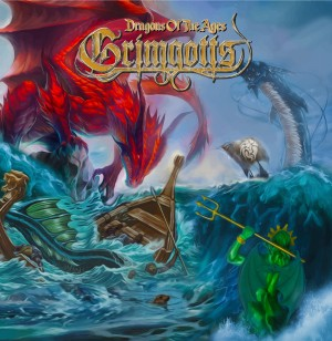 Grimgotts - Dragons of the Ages - Front cover